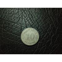 10 пфеннигов 1890