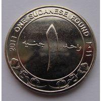 "Судан. 1 фунт 2011 год КМ#127 ""Центральный банк Судана"""