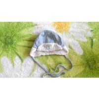 Зимняя шапка с рождения