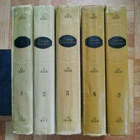 Элиза Ожешко - Собрание сочинений в 5 томах (большая редкость) + бесплатная пересылка
