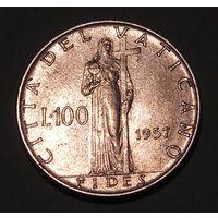 Ватикан, 100 Лир 1957 PIUS XII (93)