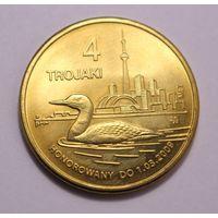 Польша, токен 4 Trojaki 2009 год