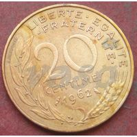 6419:  20 сантимов 1962 Франция