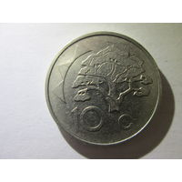 Намибия 10 центов 1993 г. Распродажа