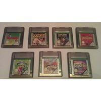 Оригинальные картриджи для Nintendo Game Boy Color