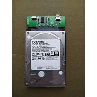 Жесткий диск Toshiba 500 Gb c 1 рубля