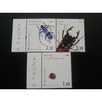Хорватия 2005 жуки полная серия