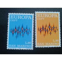 Сан-Марино 1972 Европа полная
