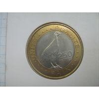 Джибути 250 франков 2012г.km42