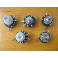 Регулировочные потенциометры типа СП-1 и СП-3 -5 штук