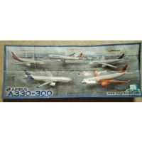 Серия игрушек из ки:ндера самолеты