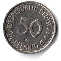 Германия. 50 пфеннигов. 1990 A