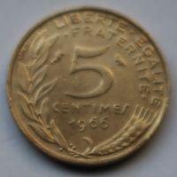 Франция, 5 сантимов 1966 г