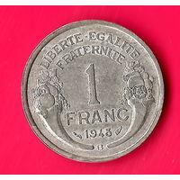 14-05 Франция, 1 франк 1948 г.