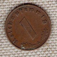 Германия 1 пфенниг 1939 A//(Oct)