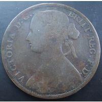 Британия. 1 пенни 1861
