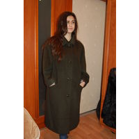 Классное женское офисное пальто р. 52-54