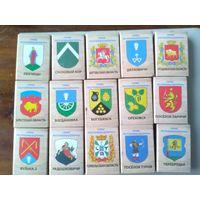 Спичечные коробки гербы республики беларусь Толстый шрифт Цена за все