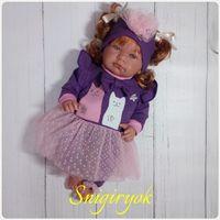 Платье для куклы 40-45 см.