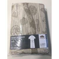 Халат для бани в упаковке