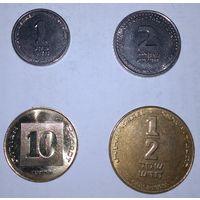 Монеты Израиль. 4 шт. Одним лотом.