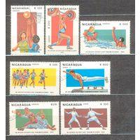 Никарагуа. Спорт 1983 г.