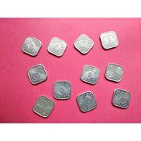 Антильские острова 5 центов с 1 копейки без минимальной цены -9-459