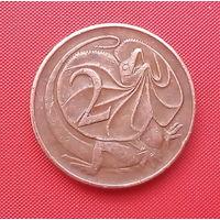 64-25 Австралия, 2 цента 1969 г.