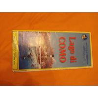 Расписание движения катеров по озеру Комо Италия