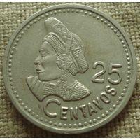 25 сентаво 1997 Гватемала