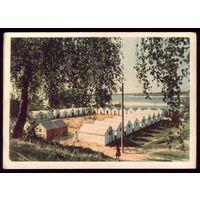 1961 год Украина Канев Табор на берегу Днепра
