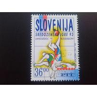 Словения 1993 баскетбол