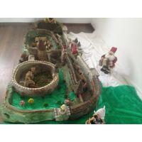 Макет замка 17 века