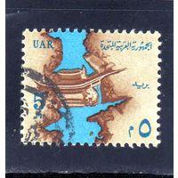 Египет.Ми-721.Нил плотины Садд эль-Али в Асуане Серия: Национальные символы.1964.
