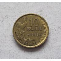 Франция 10 франков 1953 Четвертая Республика