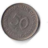 Германия. 50 пфеннигов. 1974 G