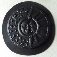 Форма для изготовления барельефа ДЕНЬ-НОЧЬ диаметр 28 см.