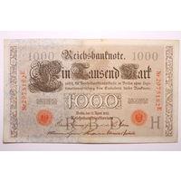 Германия, 1000 Марок 1910 год