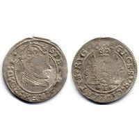 Грош 1582, Стефан Баторий, Рига. Достаточно редкий тип монеты, R1