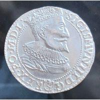 Сигизмунд III 6 грошей шостак 1596 Мальборк