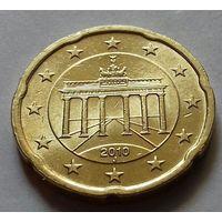20 евроцентов, Германия 2010 J