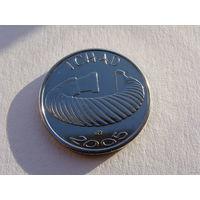 Чад. 1500 франков 2005 год X#19