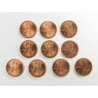 1 цент США 2001. Поштучно