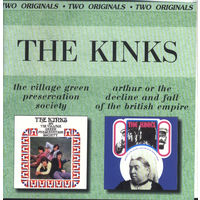 KINKS - The Village Green Preservation Society'68 & Arthur Or The Decline And Fall Of The British Empire'69