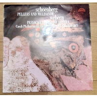 Schoenberg, Webern - Pelleas And Melisande / Passacaglia For Orchestra. Czech Philharmonic Orchestra, Hans Swarowsky.