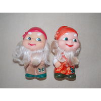Гномы, гномики, резиновые советские игрушки