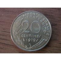 Франция 20 сантим 1979