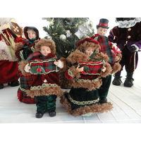 Рождественские куклы. (Рождественское пение)