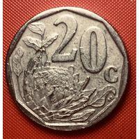 29-07 ЮАР, 20 центов 2007 г.