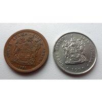 Южная Африка - 2 монеты (из коллекции)
